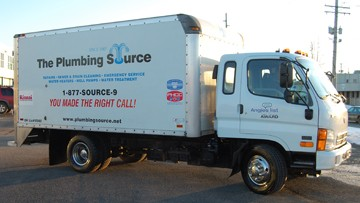 The Plumbing Source trucks can be seen throughout Greater Cleveland