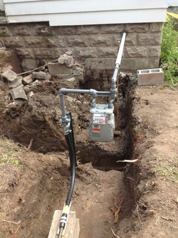 Gas Install - The Plumbing Source