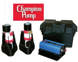 The Champion Pump Duplex Alternating Backup System Will