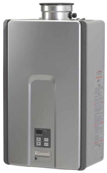 Rinnai tankless hot water tank