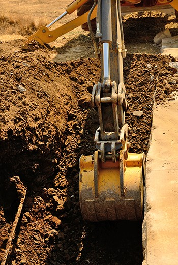 The Plumbing Source has the excavation equipment to get the job done.