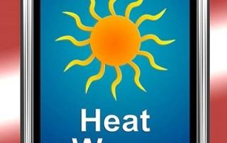 heat wave graphic