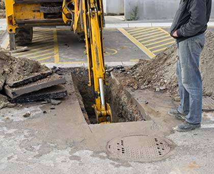 Call The Plumbing Source for professional excavation work