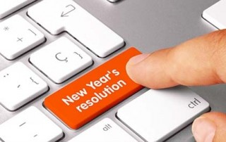 new year's plumbing resolutions graphic